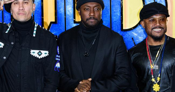 Black Eyed Peas land ITV documentary