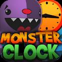 Crazy Monster Clock icon