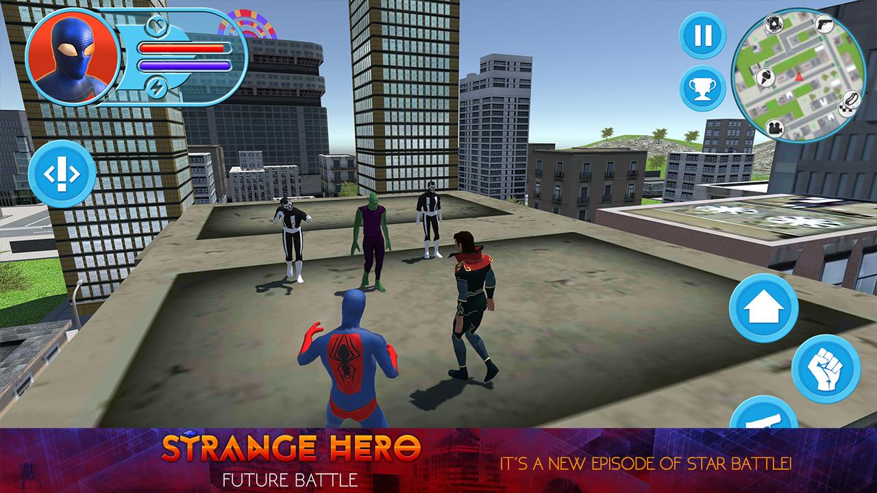 Strange Hero: Future Battle- screenshot