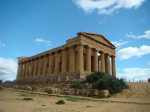 Photo: Valle di Templi (Sycylia) - świątynia Jowisza