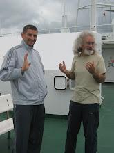 Photo: На палубе Грейфсвальда: слева на фото - наш друг Георгий, справа - Дмитрий.