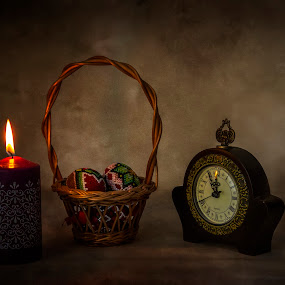 by Ionel Covariuc - Artistic Objects Still Life ( picture, candle, still life, watch, artistic objects )