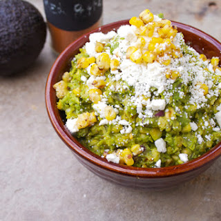 Guacamole, Corn & Feta Dip