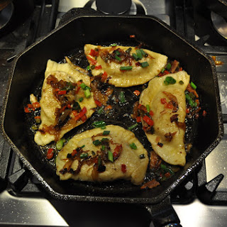 Pierogies- Stuffed Bacon, Onion, Cheddar & Potato