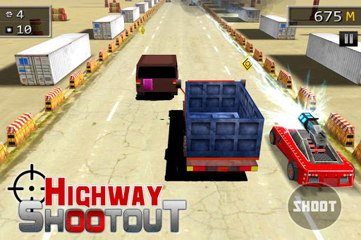 Highway Shootout - Car's Havoc