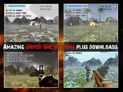 Amazing Sniper : Sniper Reloaded Mission FPS Game - náhled