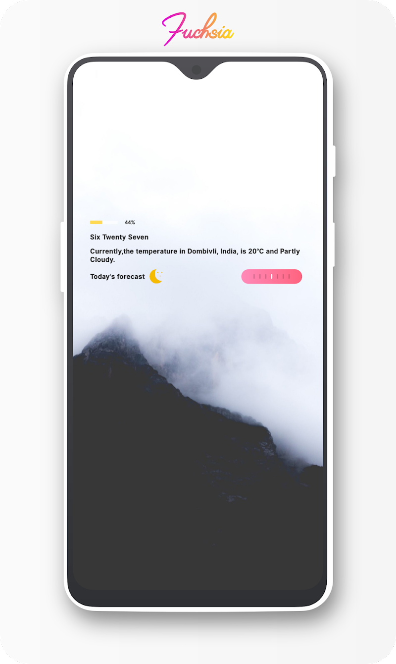 Fuchsia KWGT - Gradient Based Widgets Screenshot 6