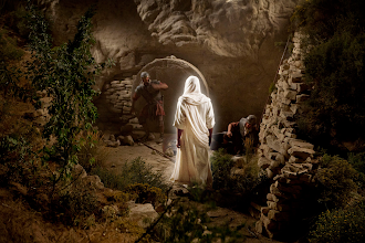 Photo: Jesus Is Laid in a Tomb. 03