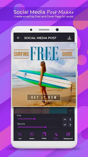 Social Media Post Maker - Social Post 1.1.0 Apk for Android 2
