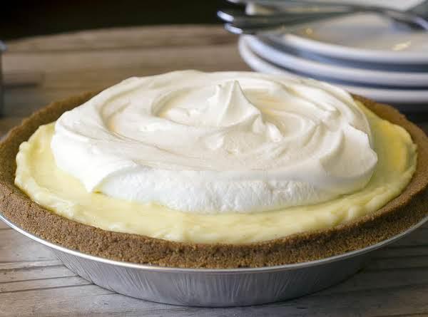 Shaleah's Banana Cream Pie Recipe