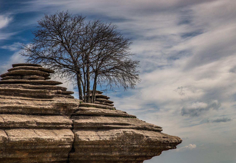 Formación rocosa del Torcal de Antequera