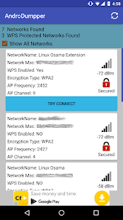 AndroDumpper Wifi ( WPS Connect ) Screenshot