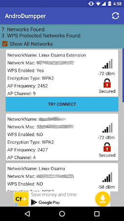 AndroDumpper ( WPS Connect ) 1.41 screenshot 322298