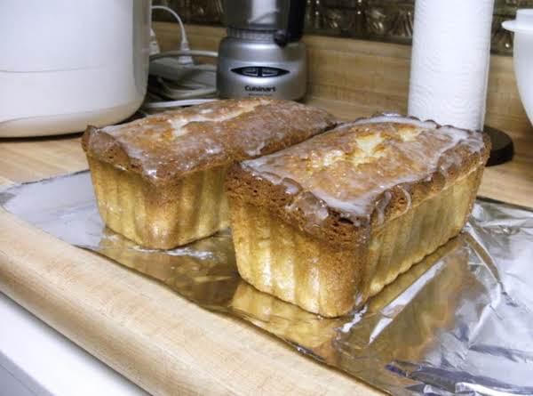 Coconut Bread With Glaze Recipe