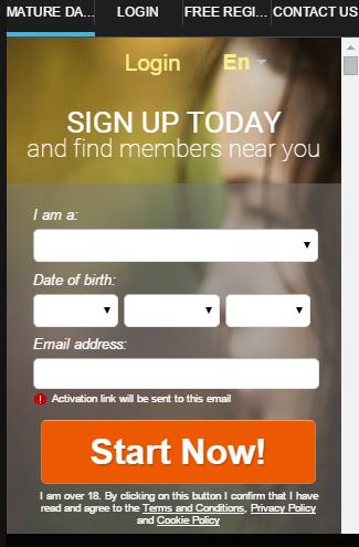 Mature Dating App