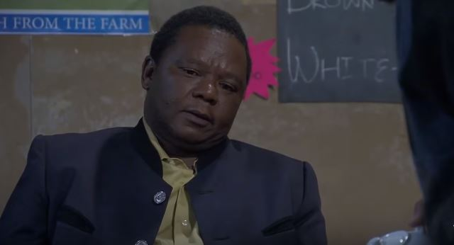 Actor Molefi Monaisa plays the role of Wallet on 'Skeem Saam'.