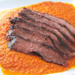 Slow Cooked Beef Brisket.
