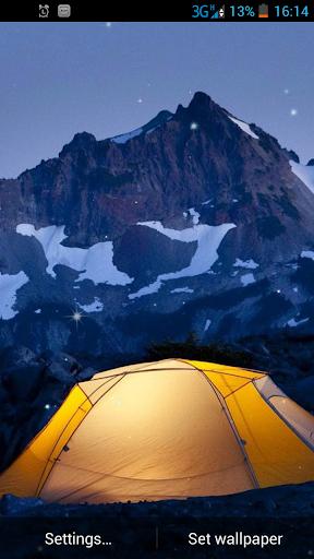 キャンプライブ壁紙