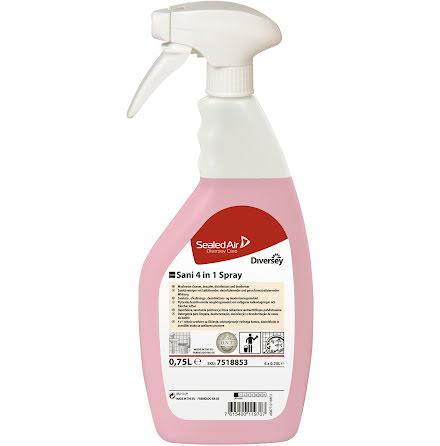 Taski Sani 4 In 1 Spray 0.75L