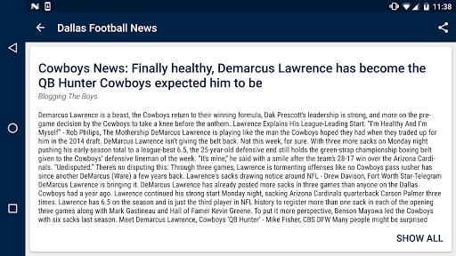 Dallas Football News  screenshots 6