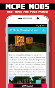 BLOCK MODS FOR MCPE screenshot 9