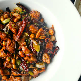 Real Deal Kung Pao Chicken.