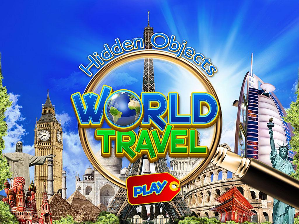 Hidden Object World Travel Spy- screenshot