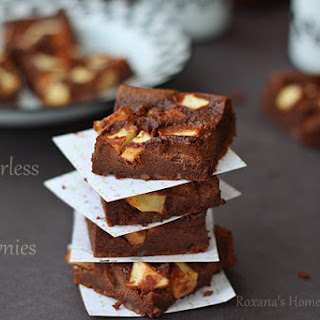 Flourless Apple Brownies.