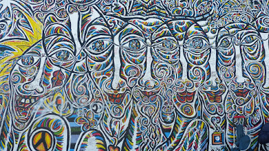 Photo: East Side Gallery; Gamil Gimajew, Ohne Titel