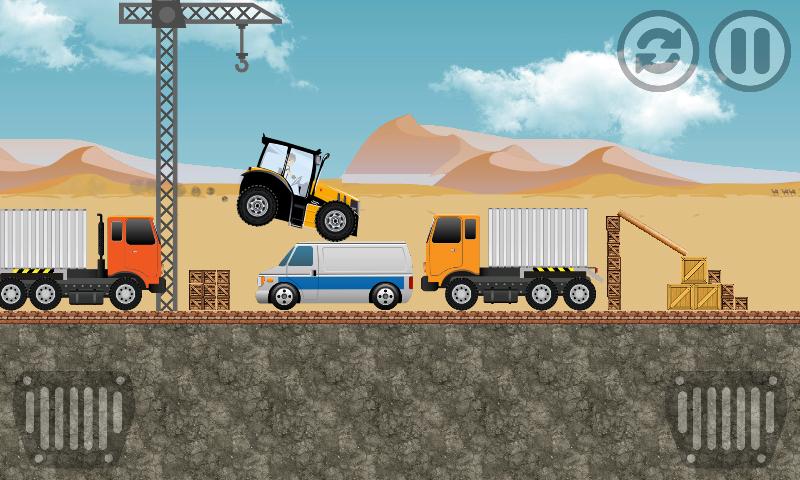 Скриншот трактор гоночной мощности ферм