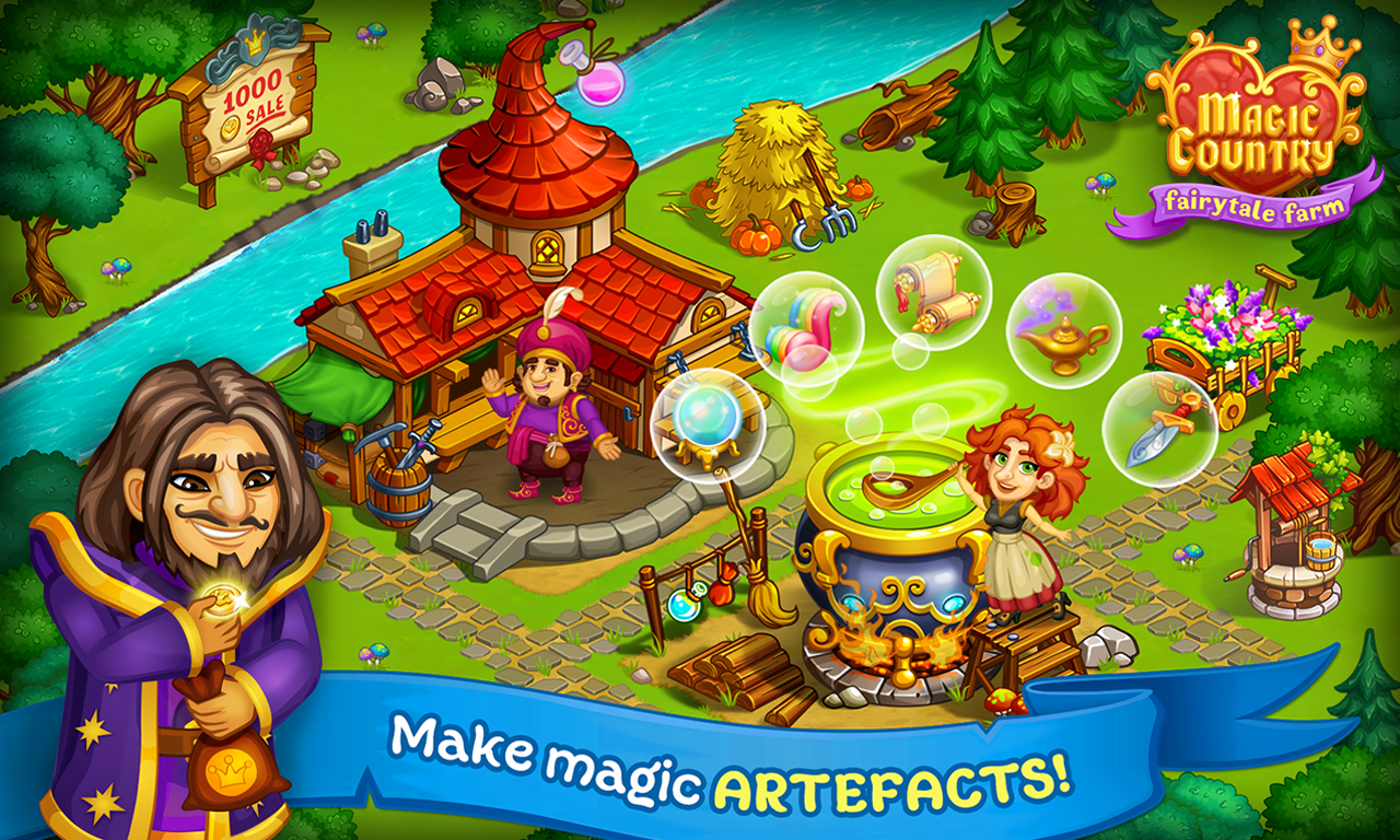 Magic City Fairy Farm And Fairytale Country Android Apps On - Country games