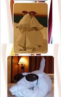 Towel Art Design - náhled