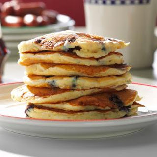 Dad's Blueberry Buttermilk Pancakes