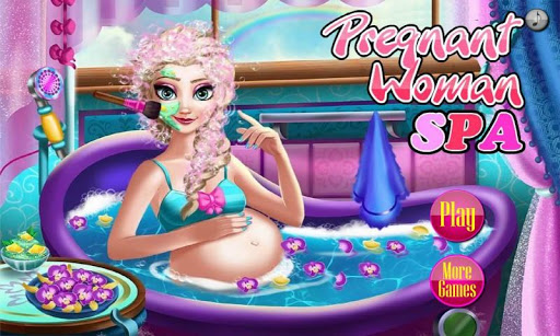 Pregnant Mommy SPA Salon