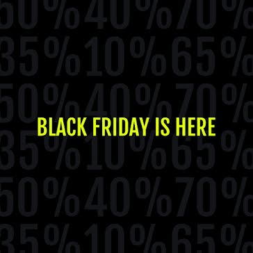 Black Friday Is Here - Instagram Post Template