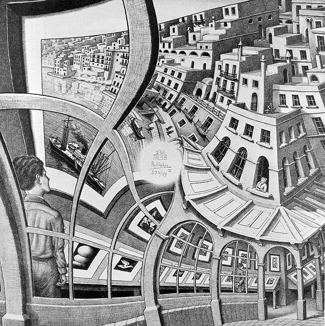 Maurits Escher, prentententoonstelling