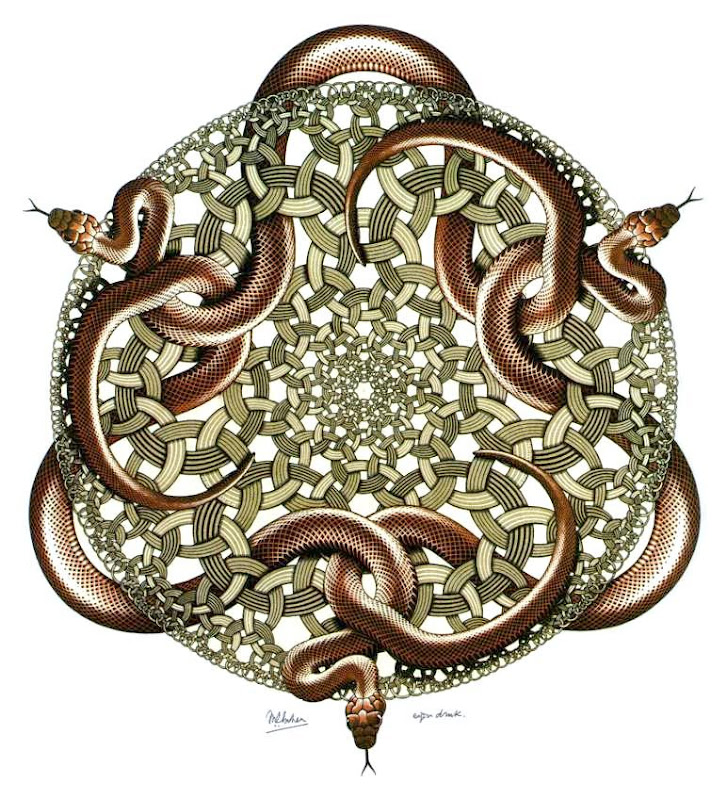 Maurits Escher, slangen