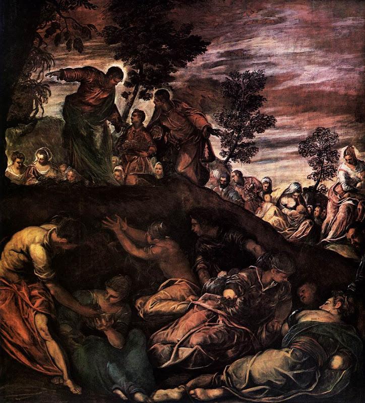 Tintoretto, de wonderbaarlijke broodvermenigvuldiging