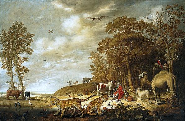 aelbert cuyp, orpheus en de dieren