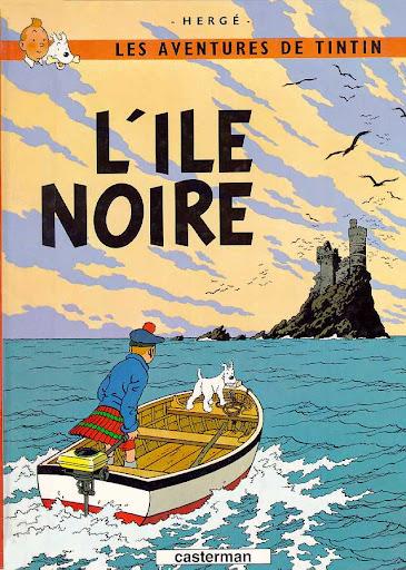 Hergé (georges remi), les aventures de tintin: l'île noire