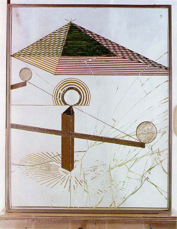 marcel duchamp, to be looked at