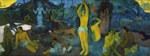 gauguin, where do we come from? what are we? where are we going?