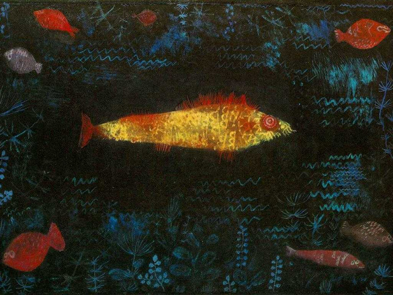paul klee, the golden fish