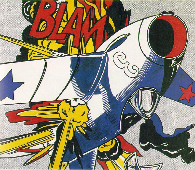 Roy Lichtenstein, blam