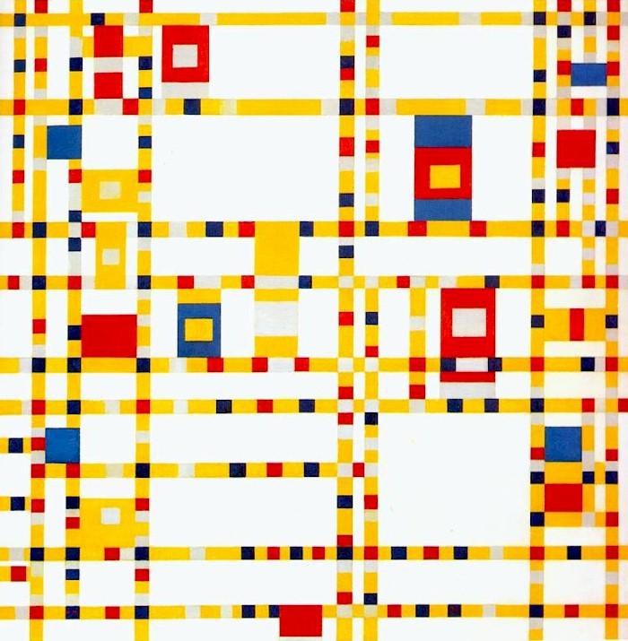 Piet Mondriaan, Broadway boogie-woogie