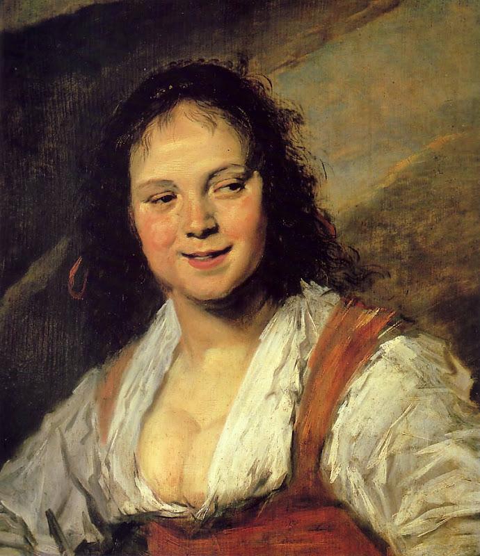 Frans Hals, zigeunermeisje