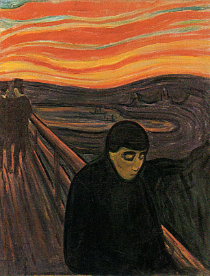 edvard munch, despair