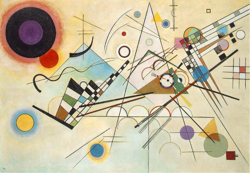 wassily kandinsky, compositie viii