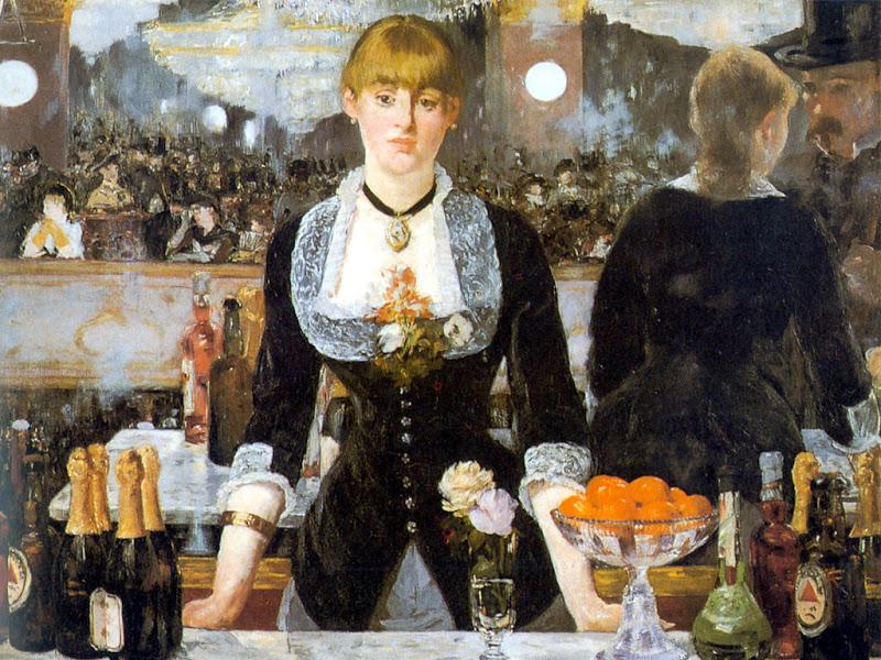 Édouard Manet, un bar aux Folies-Bergère