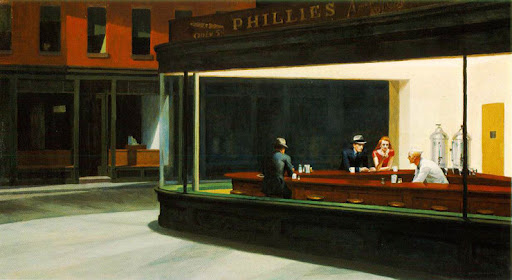 edward hopper, nighthawks